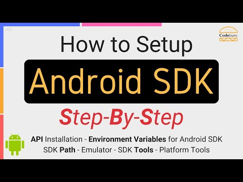 Setting Up Android SDK