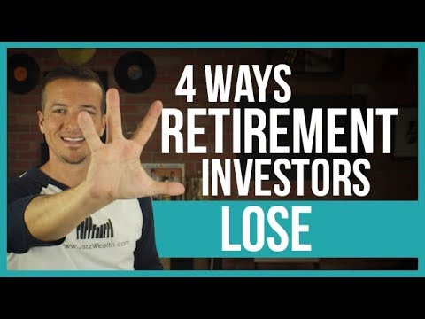 4 ways retirement investors lose.