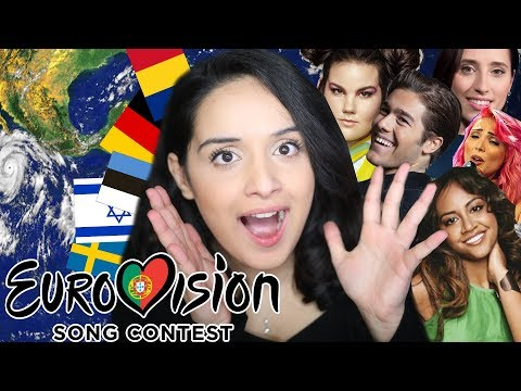 REACTING TO EUROVISION 2018! Germany, Israel, Australia, Sweden, Romania AND MORE!