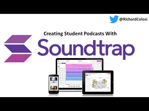 Creating Student Podcasts with Soundtrap - www.SoundTrap.com