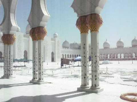 Prayer Call at Zayed Grand Mosque, Abu Dhabi
