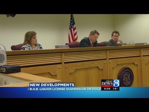 Judge: B.O.B. liquor license suspension stayed