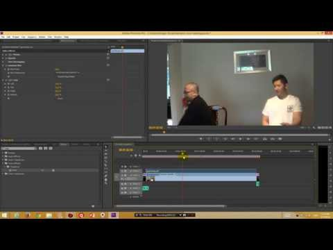How to blur out a section of your video with Premiere Pro CS6