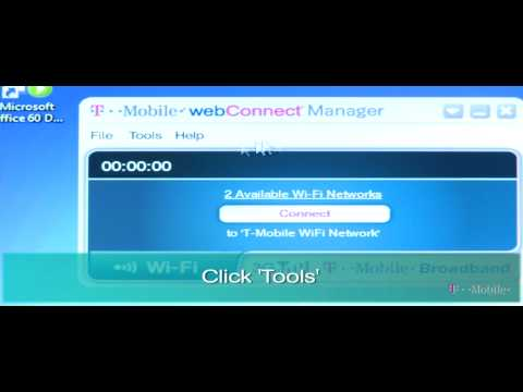 How to Connect to a T-Mobile Hotspot