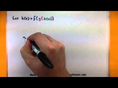 Calculus - Understanding the chain rule