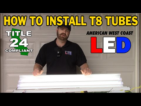 How to Retrofit - Direct Wire T8 Tube Lamps