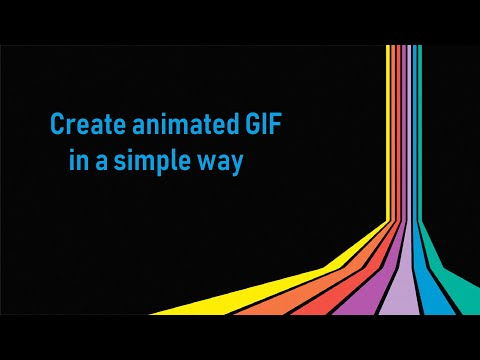How to make a GIF Without any software!!/(moving image)