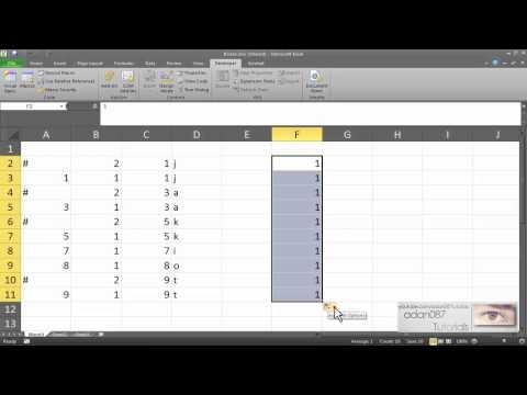 Excel remove duplicate data using formulas