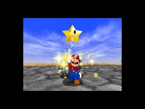 Super Mario 64 DS - Shifting Sand Land Star 7 - Free Flying For 8 Red Coins