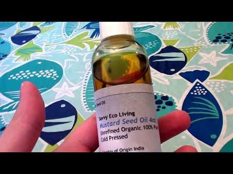 Mustard Oil 100% Pure ,Unrefined, Organic,Cold Pressed
