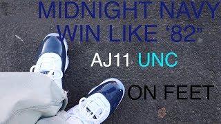 huge selection of 244d5 f8a15 Jordan 11 Win Like 82 🔥🔥Sneaker Unboxing , On Feet View ...