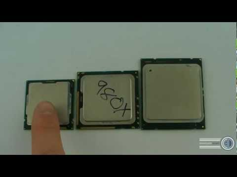 Intel 2011 1155 & 1366 Socket and CPU Comparisons