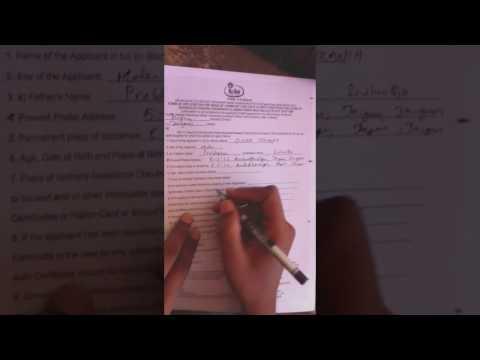 How to Fill Caste Application (Community and DOB) | Telangana | Howtofill.com