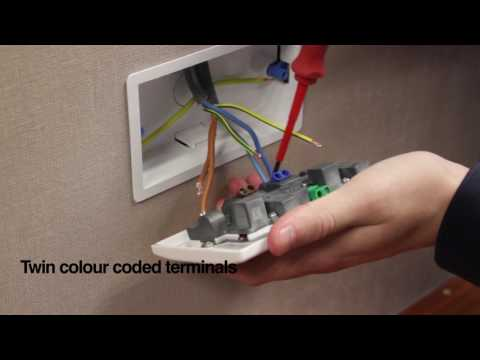 M2 Electrical Double Socket installation