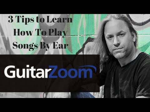 3 Tips to Learn How to Play Songs By Ear