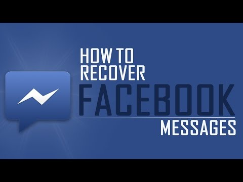 How to Recover Deleted Facebook Messages 2014