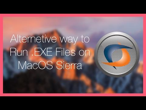 Tutorial // How to open .EXE / Windows programs on mac os sierra [Alt]