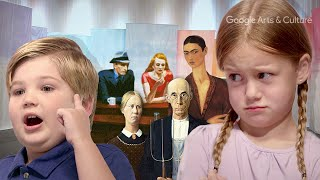 Kids Quiz Art Experts on Art Masterpieces with Google Arts & Culture