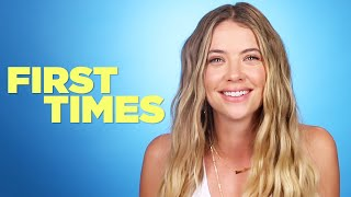Ashley Benson Tells Us About Her First Times