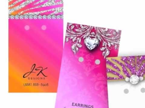 Earring Display Cards 2