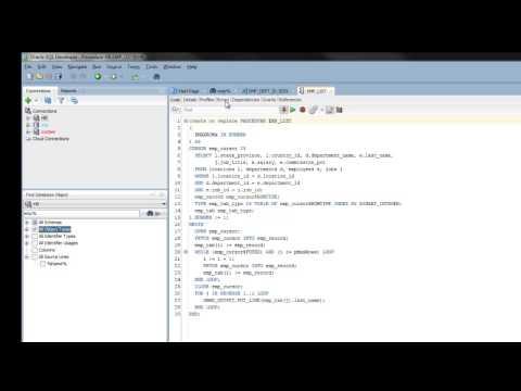 Find Database Object in SQL Developer 4.0