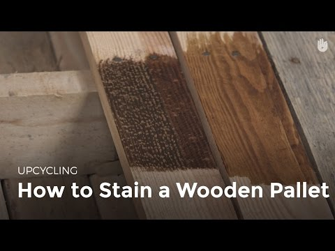 How to Stain Wood | Upcycling