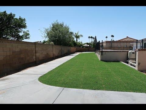 Backyard Concrete Sidewalk