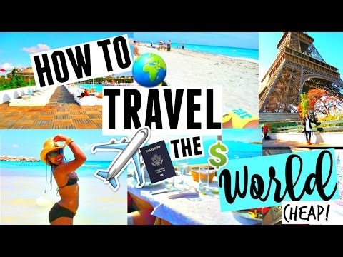 How to Travel the World for DIRT CHEAP! EASY Budget HACKS & Tips for Your DREAM Vacay
