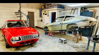 Lancia Fulvia 1600 Zagato resto Part 8. How to create perfect bodywork from flat metal sheet