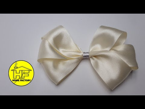 How to make bow - IVORY BOW