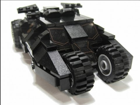 Step-By-Step: the Tumbler (Dark Knight) LEGO MOC