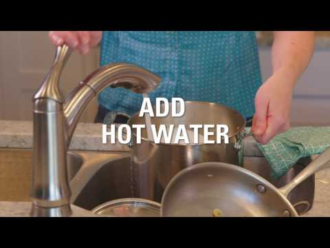 How to Clean Pots & Pans