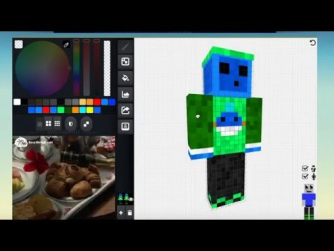 How to Make a Minecraft Skin | 1.8+ (FREE!)