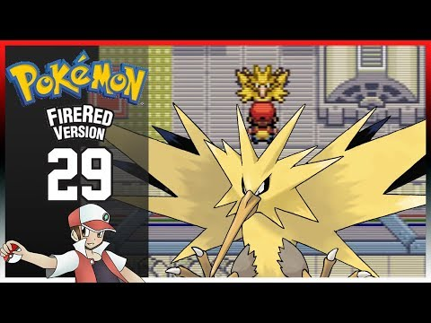Pokemon Fire Red: Part 29 - Zapdos