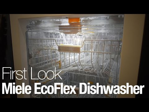 The Miele EcoFlex is the fanciest dishwasher we've ever seen