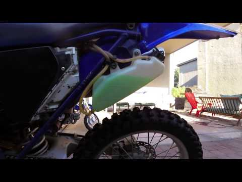 YZ400F blown head gasket?