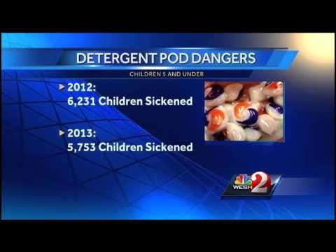 After child's death, parents warned about dangers of laundry pods