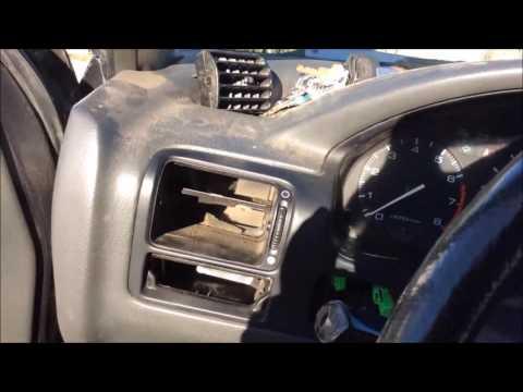 91 honda accord dash heater ac replacement