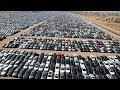 MILLIONS OF CARS ARE ROTTING IN THE OPEN AIR