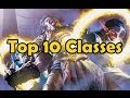 Top 10 Classes in World of Warcraft