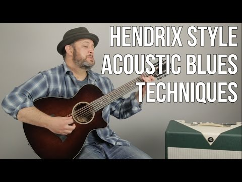 Hendrix Style 12 String Blues Techniques a la