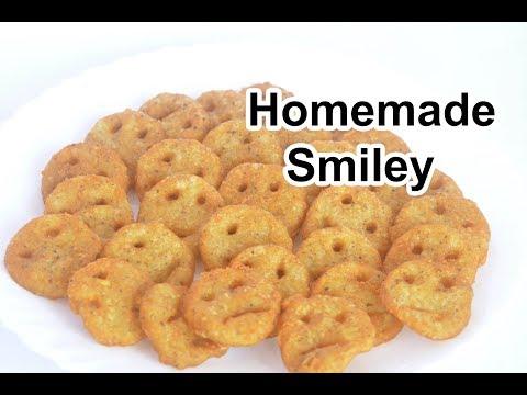 Smiley recipe |  ஸ்மைலி  ரெசிபி | Homemade Smiley recipe | Easy Crispy Smiley