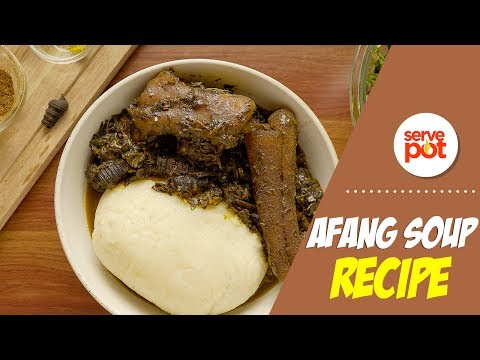 How To Make Afang Soup With Semo
