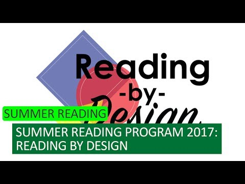 Building a Great Summer at the Library - Summer Reading 2017