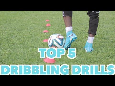 TOP 5 SOCCER DRIBBLING DRILLS