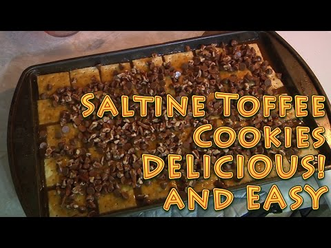 Delicious Saltine Toffee Cookies Easy and CHEAP