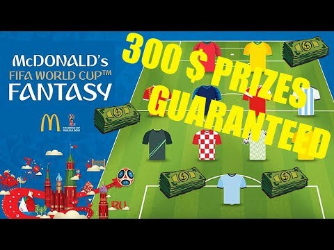 Round 2: WORLD CUP FANTASY LEAGUE! JOIN OUR LEAGUE! 300$ PRIZES GUARAENTEED!