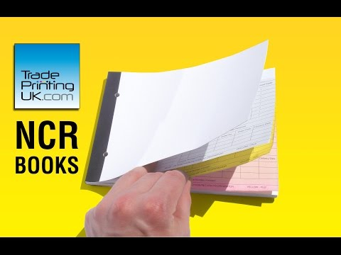 NCR Invoice Books - Carbonless NCR BOOKS from Trade Printing UK