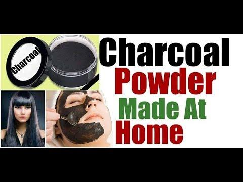 CHARCOAL POWDER MADE AT HOME