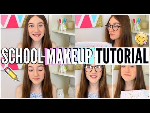 Back To School Makeup Tutorial! 2015